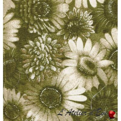 """""""Coton américain"""" coupon 45x55cm patchwork, habillement, loisirs créatifs...15405"""