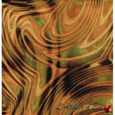 """""""Coton américain"""" coupon 45x55cm patchwork, habillement, loisirs créatifs...9962-49"""