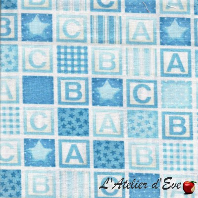 """American cotton"" coupon 50x110cmcm fat quater patchwork, clothing, creative hobbies ... 911b"