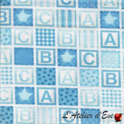 """""""Coton américain"""" coupon 50x110cm patchwork, loisirs créatifs...911b"""