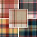 Glasgow (9 coloris) Tissu ameublement grande largeur carreaux ecossais special nappage A576