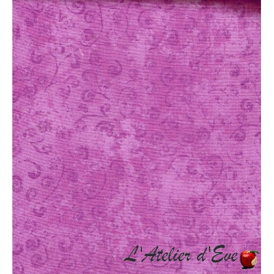 """""""Coton américain"""" coupon 35x110cm patchwork, habillement, loisirs créatifs...22542p"""