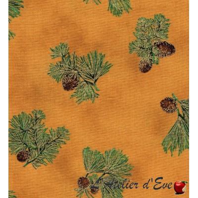 """""""Coton américain"""" coupon 65x110cm patchwork, habillement, loisirs créatifs...0783"""