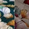 Celine Tissu fleuri enduit beige Thevenon