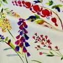 """Virginie"" enduit Remise 30% Rouleau tissu enduit fleuri Thevenon"