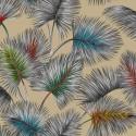 """""""Palmy"""" enduit Remise 30% Rouleau tissu fleuri Thevenon"""