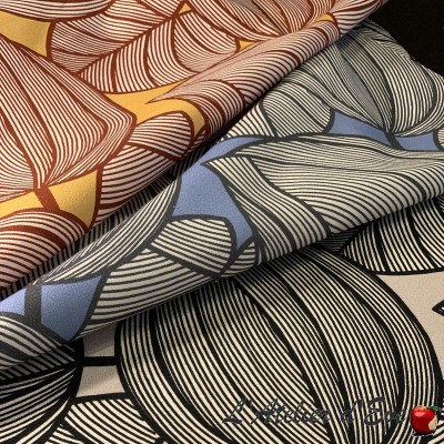 """Nuit Blanche"" Remise 30% Rouleau tissu coton Thevenon"