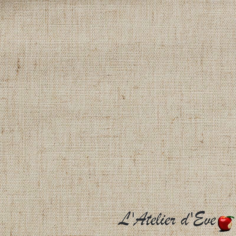 """""""Lin occultant"""" Tissu sable occultant aspect lin Thevenon"""