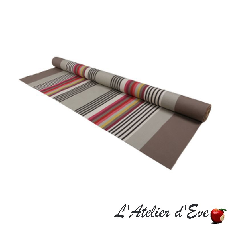 """Larrau"" Toile basque coton enduit Made in France L.155cm Artiga"