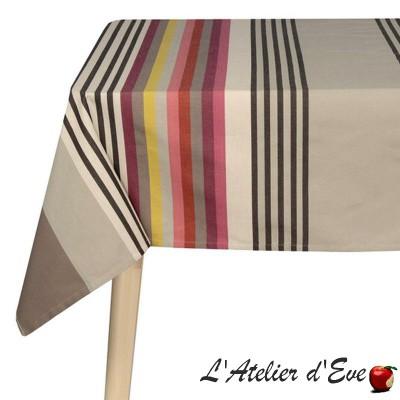 """""""Larrau"""" Basque cotton tablecloth Made in France Artiga"""