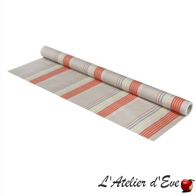 """""""Artique"""" Basque outdoor canvas Made in France L.175cm Sunbrella Artiga"""