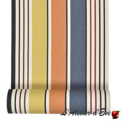 """Gouts"" Cotton bouncer canvas Made in France L.42cm Artiga"