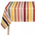 """""""Garlin ocher"""" Basque cotton tablecloth Made in France Artiga"""