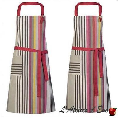"""""""Garlin ocher"""" Cotton apron Made in France Artiga"""