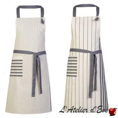 """Larrau"" Cotton apron Made in France Artiga"