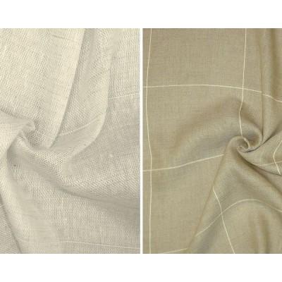 Takama (2 coloris) Rouleaux toile ameublement grande largeur carreaux Thevenon La piece ou demi piece
