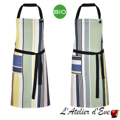"""Iholdy"" Tablier coton bio Made in France Artiga"