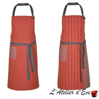 """""""Sauvelade"""" Cotton apron Made in France Artiga"""