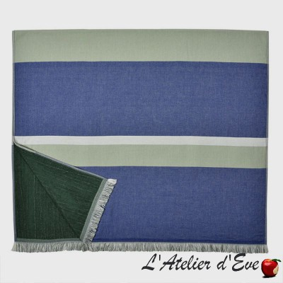 """Aroue"" Fouta double face coton/éponge 100x180cm Artiga"