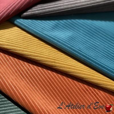"""Corduroy"" Velvet fabric upholstery Thevenon"