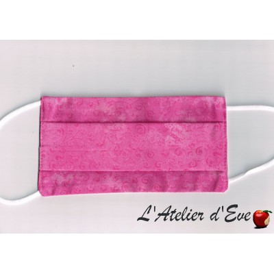 Promo Octobre Rose Ecomasque haute protection tissu spécial respirant Made in France mpt-eco-4