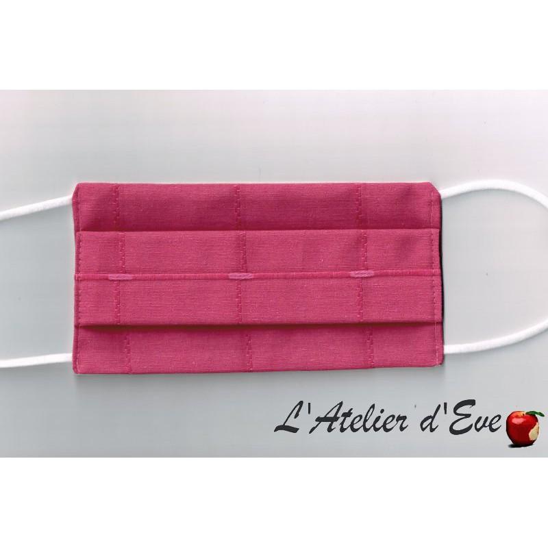 Promo Octobre Rose Ecomasque haute protection tissu spécial respirant Made in France mpt-eco-5