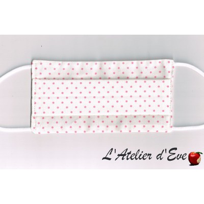 Promo Octobre Rose Ecomasque haute protection tissu spécial respirant Made in France mpt-eco-6