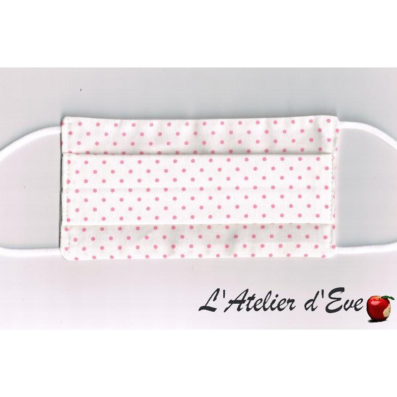 Promo Octobre Rose Ecomasque haute protection tissu spécial respirant Made in France mpt-eco-6