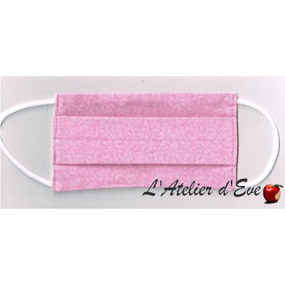 Promo Octobre Rose Ecomasque haute protection tissu spécial respirant Made in France mpt-eco-7