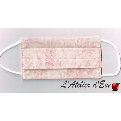 Promo Octobre Rose Ecomasque haute protection tissu spécial respirant Made in France mpt-eco-8