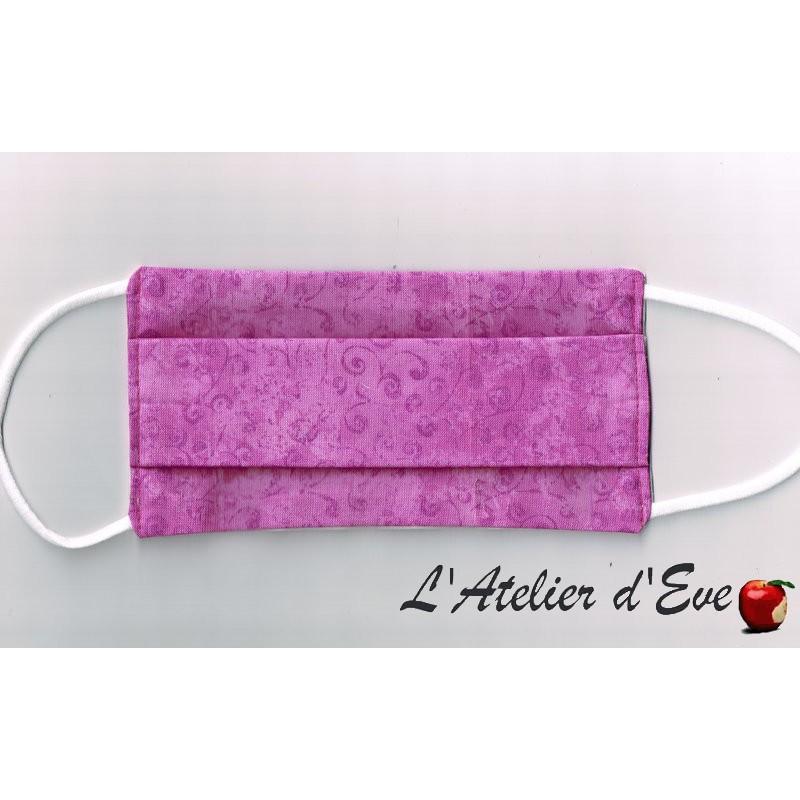 Promo Octobre Rose Ecomasque haute protection tissu spécial respirant Made in France mpt-eco-10