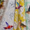 """""""Forever"""" Toile de coton rideau 4 coloris Thevenon"""