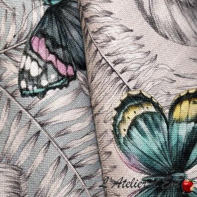 """""""Forever"""" linen Thevenon upholstery fabric"""
