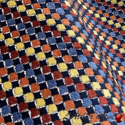 """""""Toura"""" Curtain Made in France velvet Thevenon"""