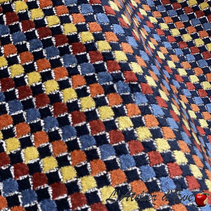 """Akan"" Jacquard fabric for Thevenon furnishing"