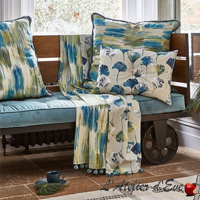 """Long Beach"" Cotton upholstery fabric Malibu Prestigious Textiles"