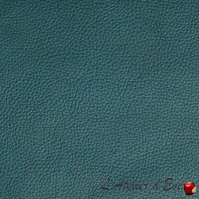 """Colorado"" Tissu aspect cuir ameublement Thevenon"