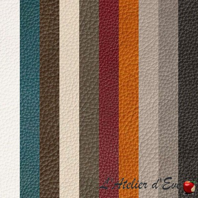 """Colorado"" Discount 30% Thevenon leather look fabric roll"