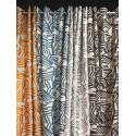 Arkane (4 coloris) Rideau à oeillets prêt à poser jacquard graphique Thevenon Le rideau