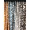 Rideau gris Made in France tissu Arkane de Thevenon