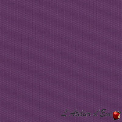 """Oscuratex "" Violet- Coupon 80cm x 280cm Tissu occultant Bautex"