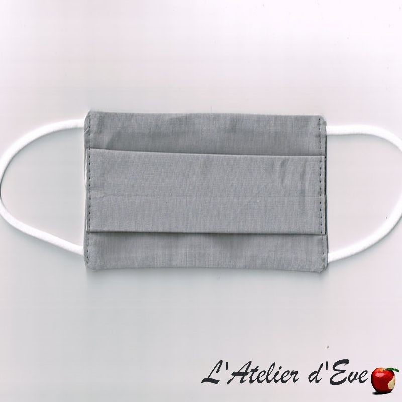 ENFANT Ecomasque haute protection tissu spécial respirant Made in France mpt-15