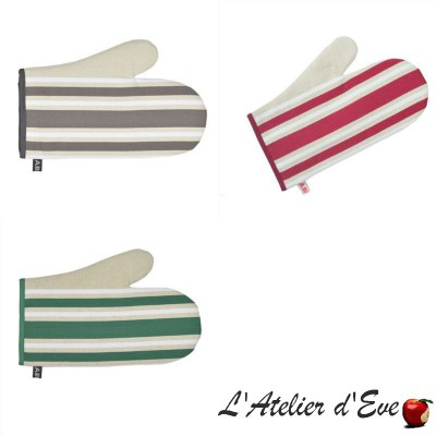 """Corda Metis"" Cotton / linen mitten basque canvas 30x19cm Artiga"