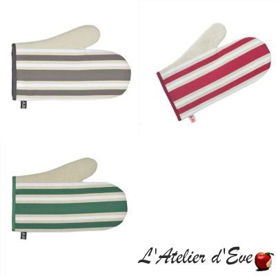 """""""Corda Metis"""" Moufle coton/lin toile basque 30x19cm Artiga"""