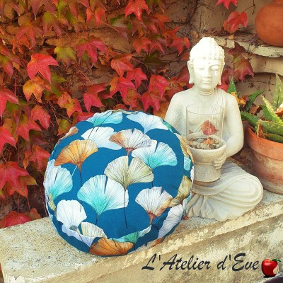 """Zafu"" Céline Meditation cushion Made in France L'Atelier d'Eve"