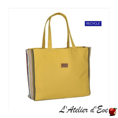 """Ony"" Grand sac Garazy jonquille"