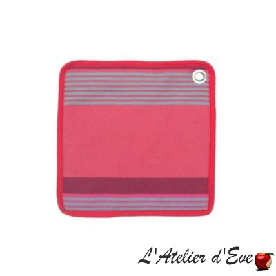 """Bidos"" Potholder cotton canvas basque 20x20cm Artiga"