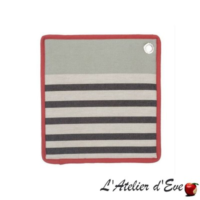 """Larrau"" Potholder cotton canvas basque 20x20cm Artiga"