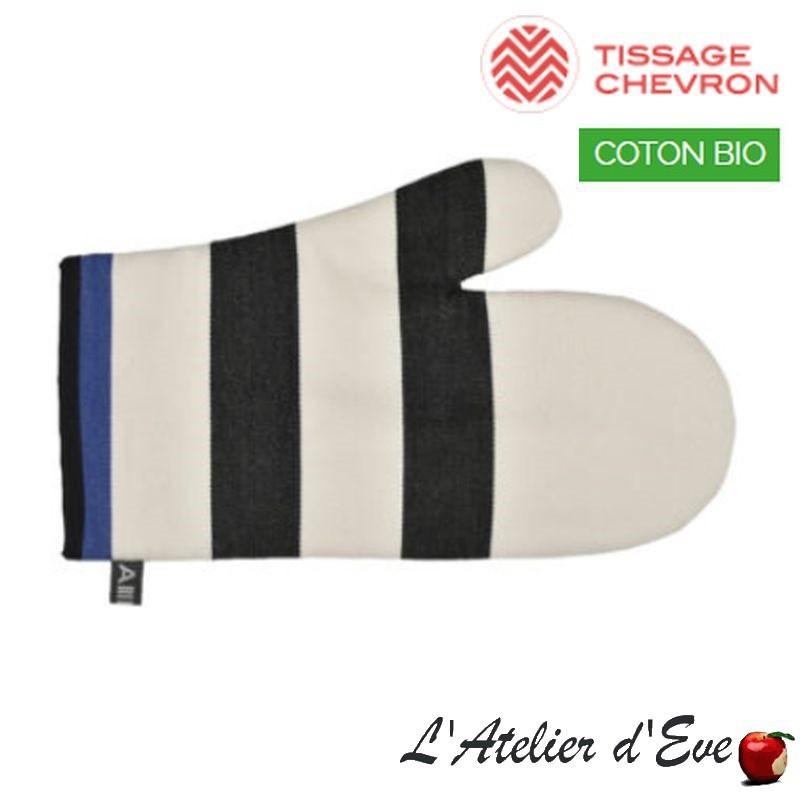 """""""Lacquy ecru"""" Moufle coton bio toile basque 30x19cm Artiga"""