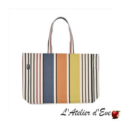 """""""Garlin ocher"""" Artiga tote bag tote bag Made in France"""